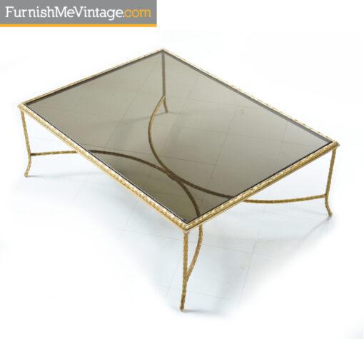 mastercraft grecian gilt coffee table