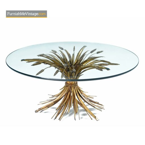 mid century Wheat Sheaf coffee table