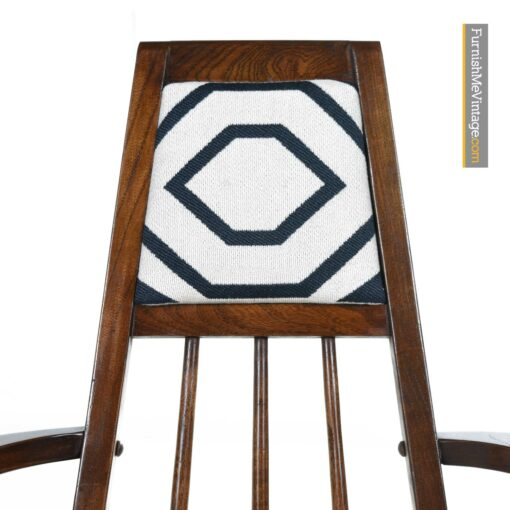 mid century modern dining chairs set