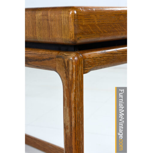 oak modern sofa table