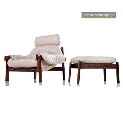 percival lafer MP 041 leather armchair