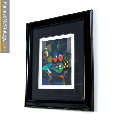 signed marcel mouly print