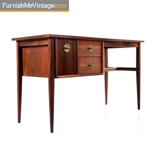 american of martinsville rosewood desk