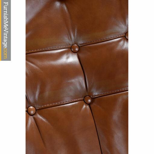 brown saddle leather
