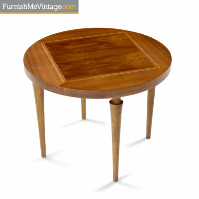 drexel round side table