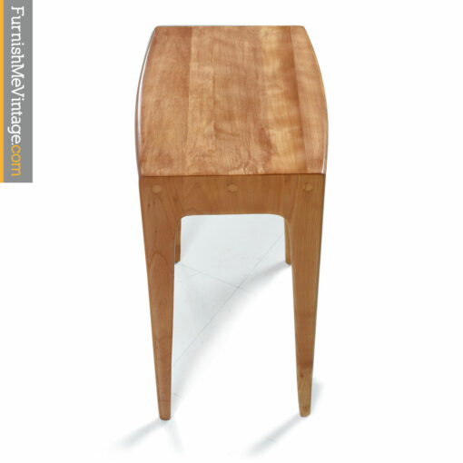heywood wakefield champagne end table