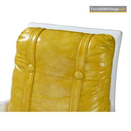 lemon vinyl indoor outdoor lounge chairs