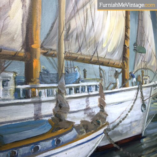 regina jackson chapman boating painting