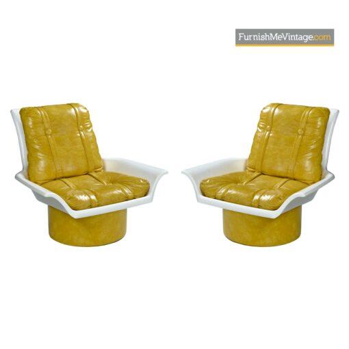 retro modern futorian lounge chairs