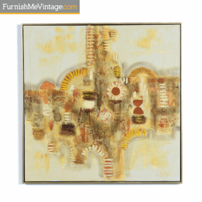 turner products yellow vintage painting