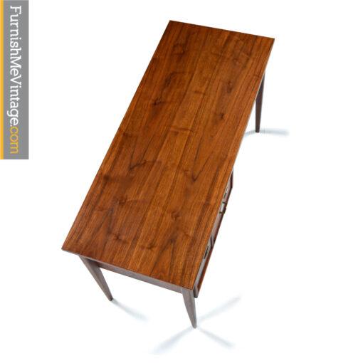 walnut mid century american of martinsville desk