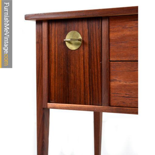 walnut rosewood desk