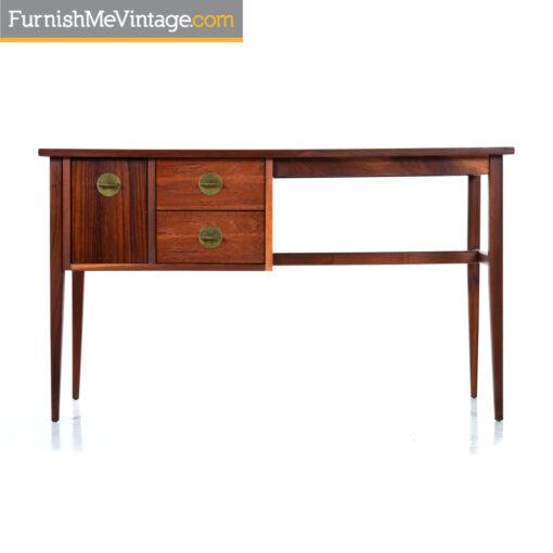 walnut rosewood vintage desk