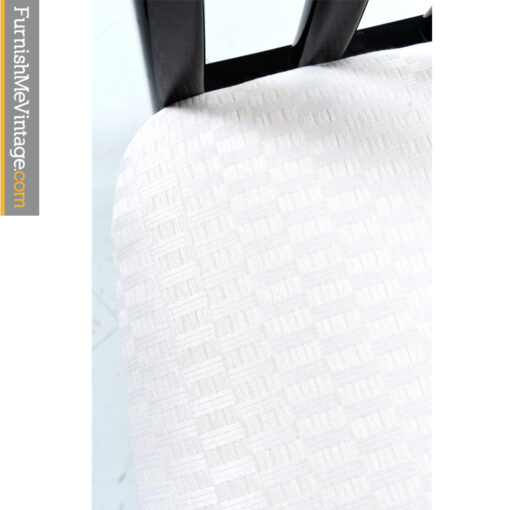 white seat upholstery