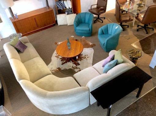 Vintage Art Deco Neo Deco Sectional Sofa