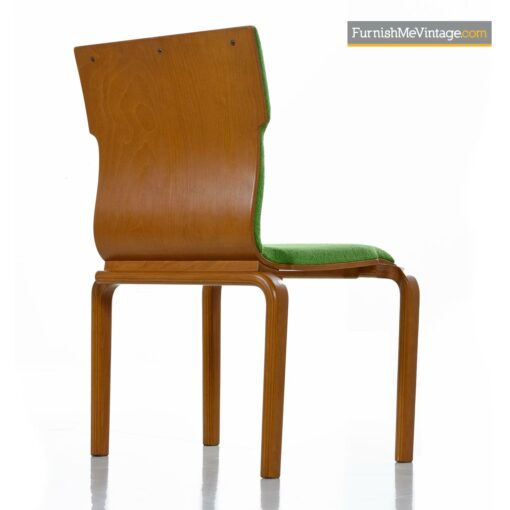 bent ply thonet dining chairs