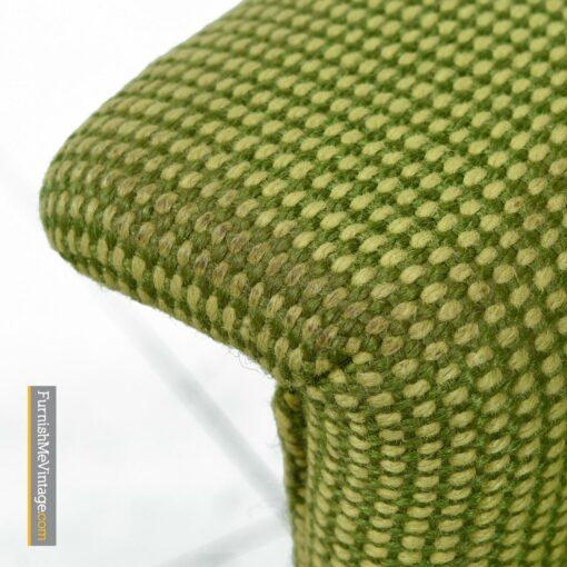 danish modern selig tweed armchairs