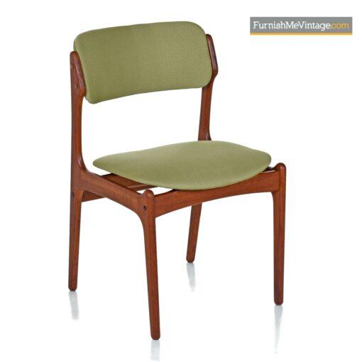 danish teak dining chairs vintage