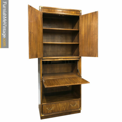 drexel accolade bookcase bar
