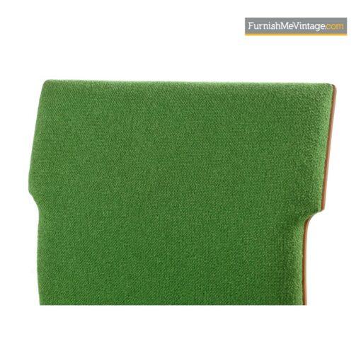 green tweed modern chairs