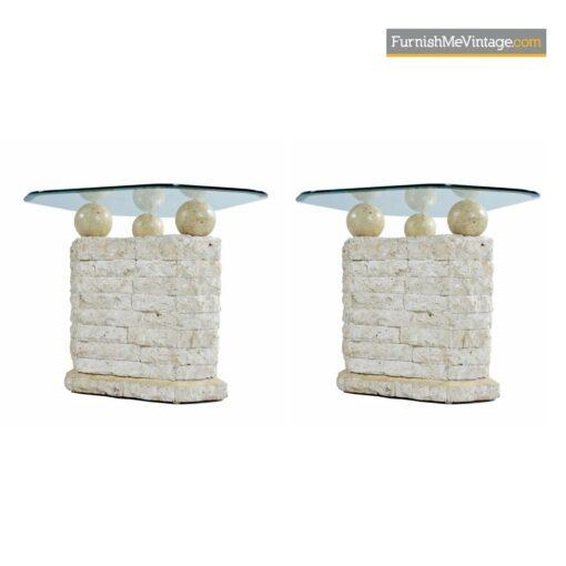 mactan stone orb retro tables