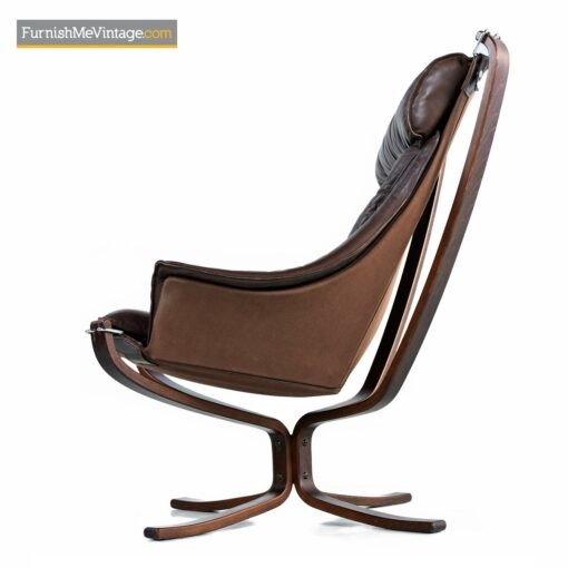 mcm leather sling falcon chair