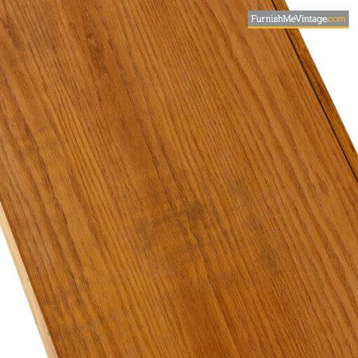 oak burl rosewood brutalist credenza