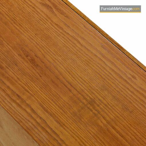 oak burl rosewood brutalist dresser