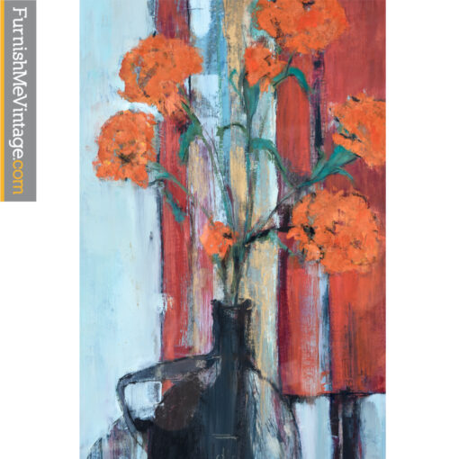 red flowers apostoll painting