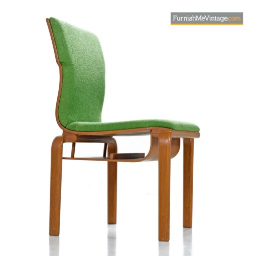 thonet bent ply dining chairs