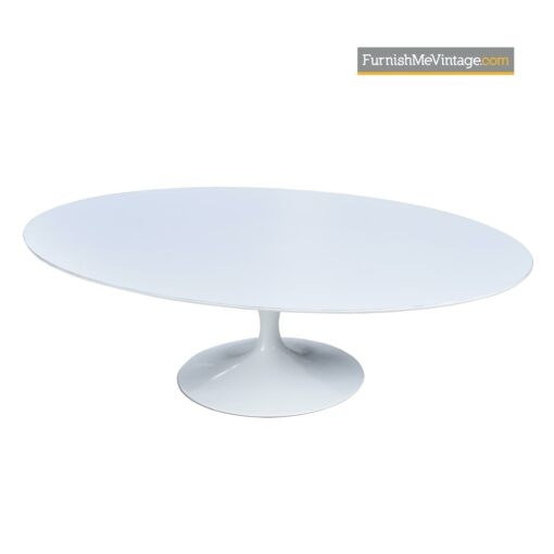 tulip oval coffee table knoll saarinen