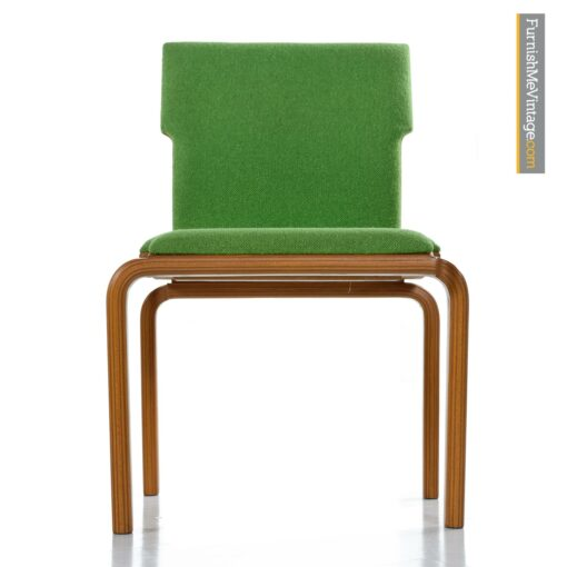 vintage modern bent ply chairs