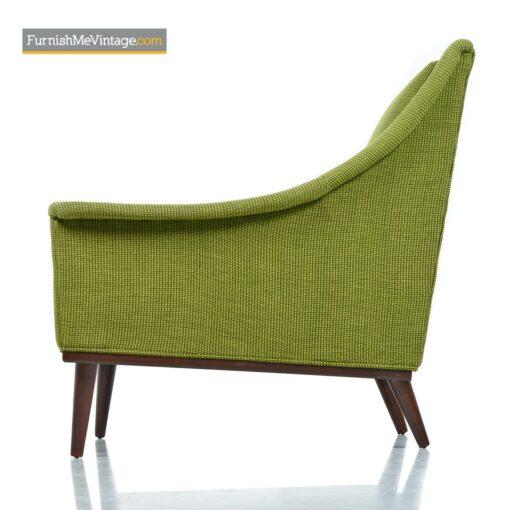 vintage modern selig armchairs