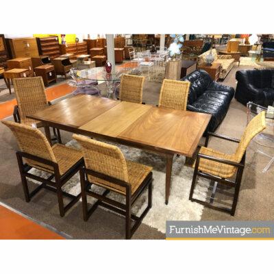 walnut mahogany dining table