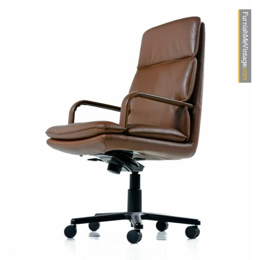 Geiger Attache leather chairs