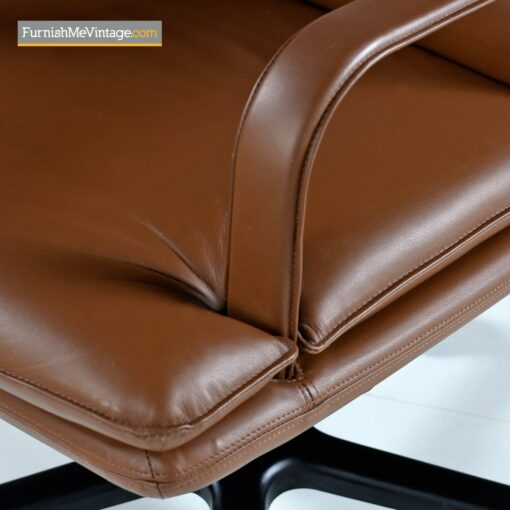 Geiger Attache leather desk chair