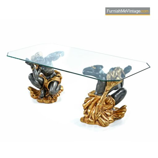 antique blackamoor coffee table