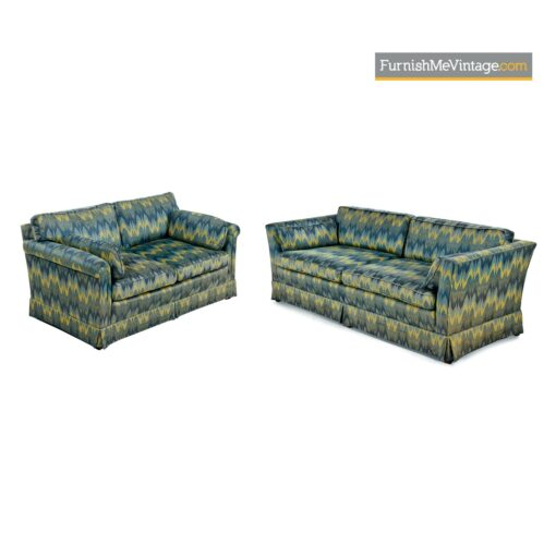 baker sofas chevron modern fabric