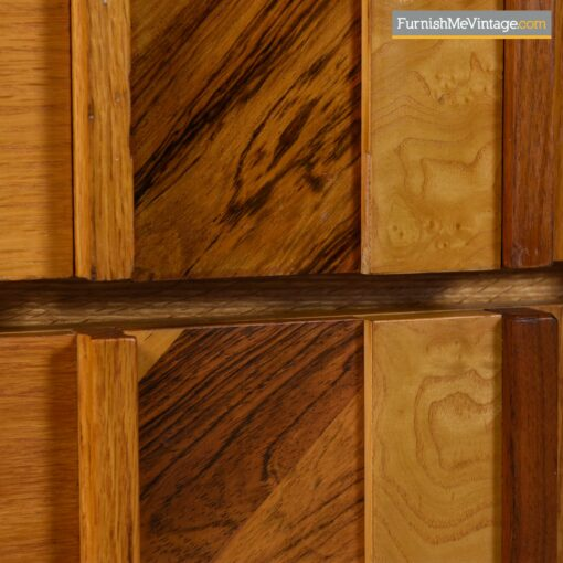 canadian brutalist oak dresser