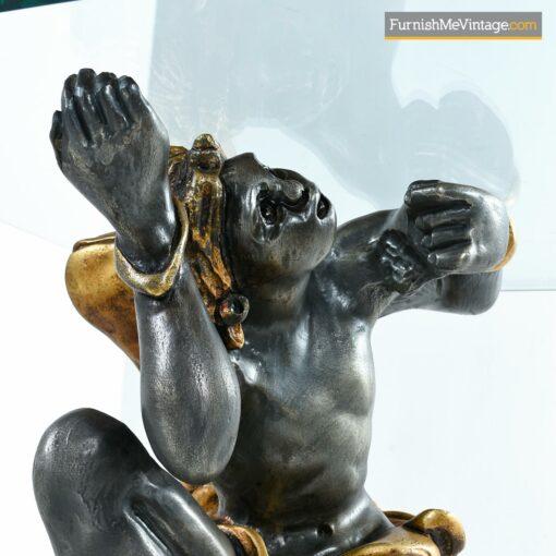 carved blackamoor figures table