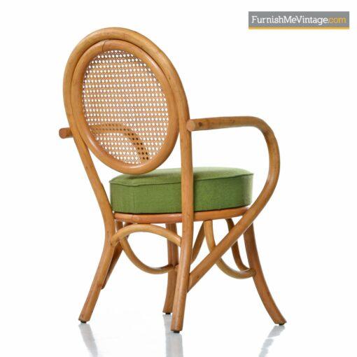 frankl rattan pretzel chairs