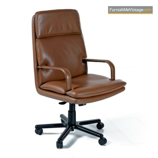 leather office chair geiger attache