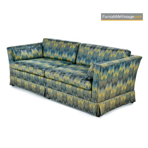 mid century baker sofa couch