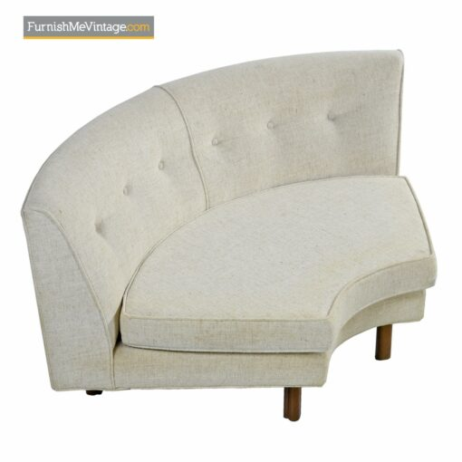 mid century sofa sectional modern