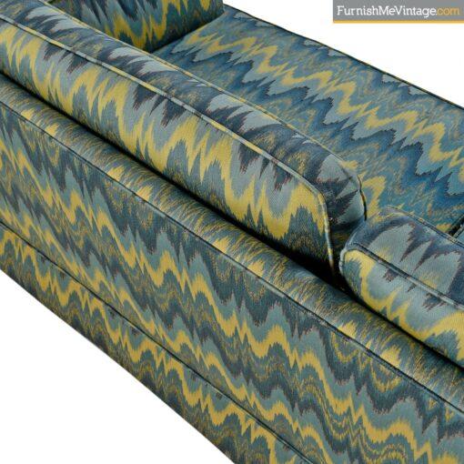 modern chevron baker sofas