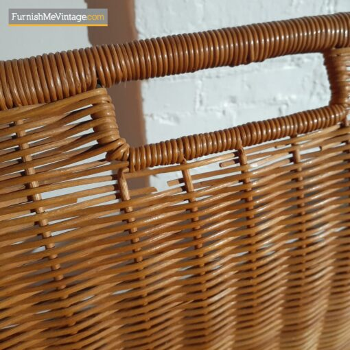 modern wicker back dining chairs