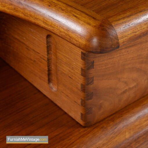 pullout shelf danish nightstands