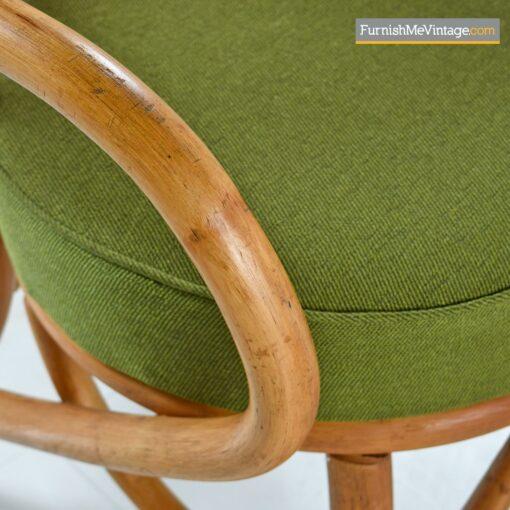 rattan frankl armchairs