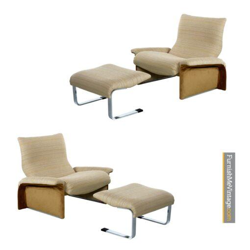 saporiti lounge chair italian modern