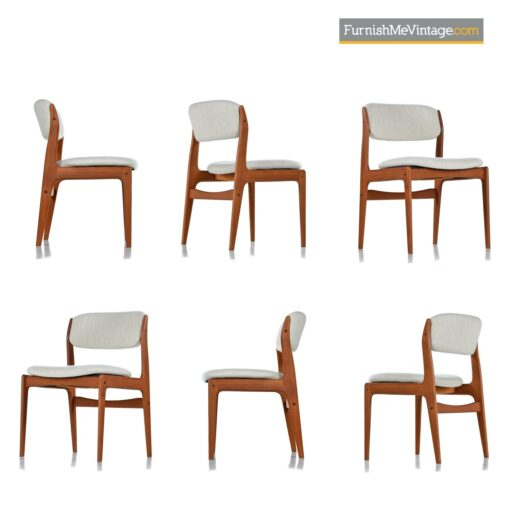 benny linden danish dining chairs